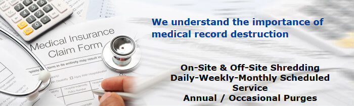 Medical Record Destruction Orange County