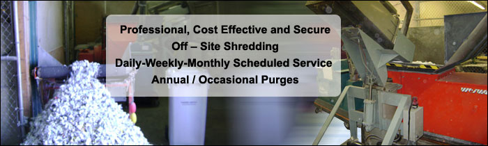 Secure Off-Site Shredding Orange County