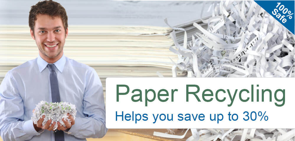 Save Up to 30% on Paper Recycling