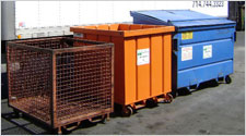 Industrial Recycling Containers