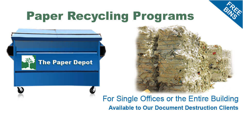 Paper Recycling Programs Ladera Ranch