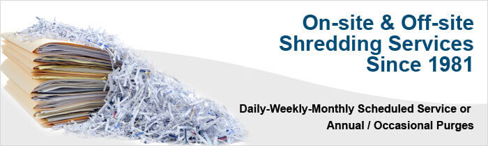 paper shredding orange county Learn more about the basic service arrangements that we offer for document destruction los angeles county, orange county.