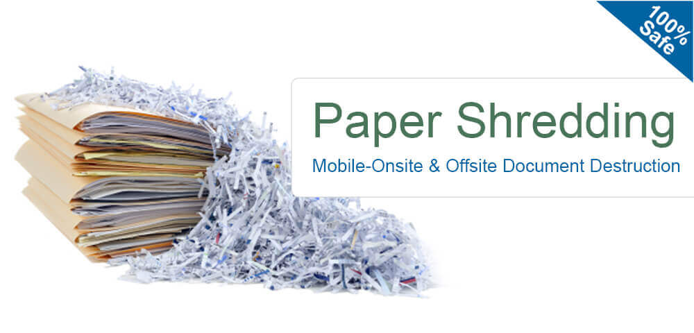 On Site & Off Site Document Shredding